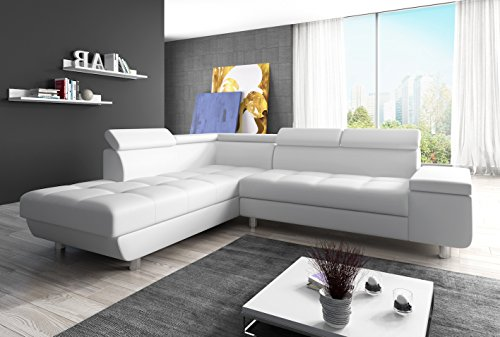 Wohnideebilder Sofa Couchgarnitur REENO EK 26 im modernem Design, abgesetzte Nähte, präzise verarbeitet.