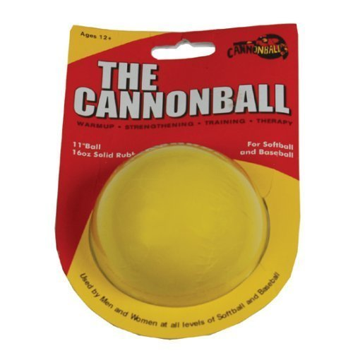 CANNONBALL - Weighted Training Softball - Fastpitch Softball Pitching Training Tool Aid