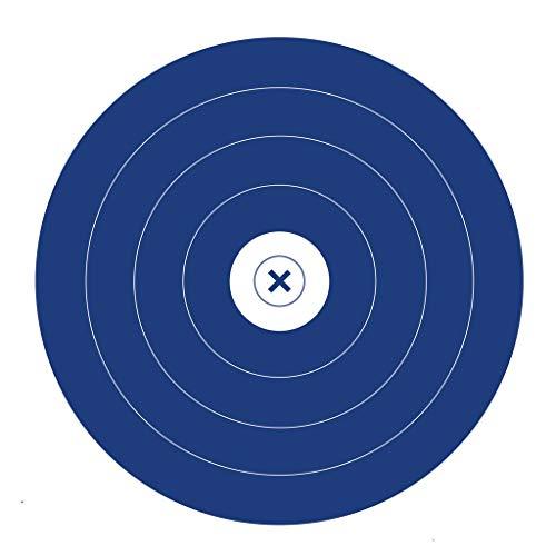 Morrell Targets 100 Pack Single Spot Paper Archery Target Face, Multi (PF1)