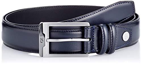 Calvin Klein ADJ Insert 35MM Cintura, CK Navy, 105 Uomo