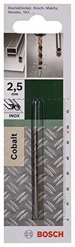 Bosch Metallbohrer Cobalt (Ø 2,5 mm)