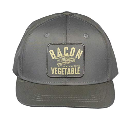 Farm Boy Men's Bacon Patch Adjustable Snapback Hat-one Size Brown