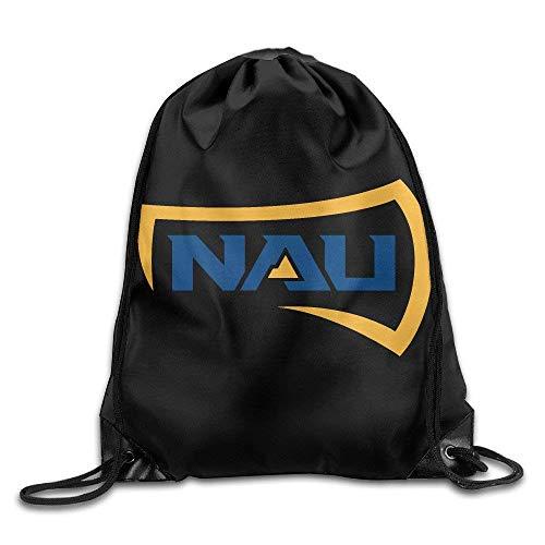 CHSUNHEY Bolsos de Lazo,Mochilas,NAU Logo Northern Arizona University Sackpack Training Gymsack Eco-Friendly Drawstring Bag Eco-Friendly Luggage Drawstring Backpack Travel Bag Pouch Portable Backpack