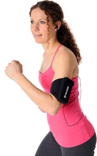 OLIVER Running &Micro Ladies Armbelt Jogging Sport Armband Tasche DAMEN schwarz