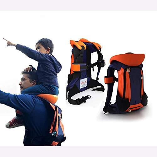 ZFAME Sattel Baby Sattel Umhängetasche Baby-Schultersitz Stuhl kann Schulterschmerzen für Eltern für Outdoor-Reisen reduzieren