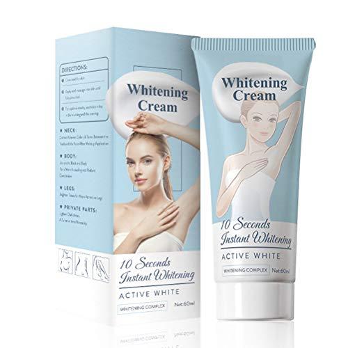 TiSkying 60ml Armpit Whitening Cream, Legs Knees Private Parts Brightening Whitening Cream for Body...