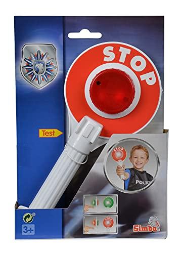Simba 108102672 - Polizeikelle mit Lichtfunktion, 25cm, Rollenspielzeug, Polizei Spielzeug, ab 3 Jahren