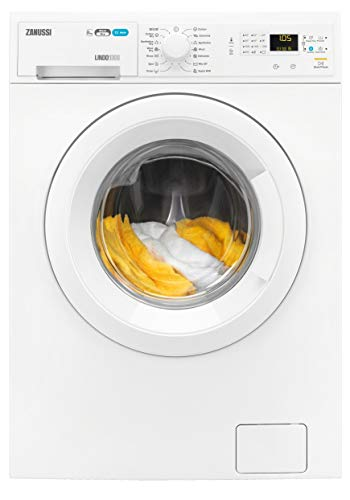 Zanussi ZWD81660NW Freestanding Washer Dryer, Quick Wash, 8kg Wash/4kg Dry Load, 1600rpm Spin, White