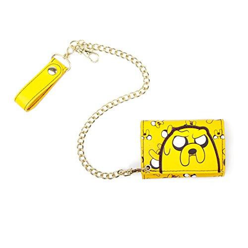 Adventure Time portemonnee MW0AVKADV geel