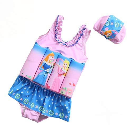 LFF SWIM kinderen afdrukken drijfvermogen badpak Baby Jongen meisje eendelige badpak drijvende badmode Float pak zon beschermende zwemmen kostuum