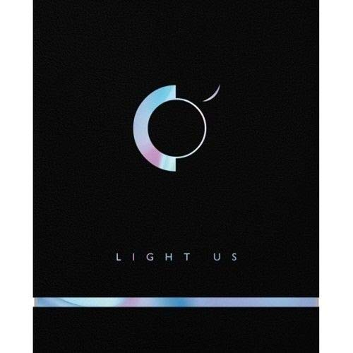 ONEUS - [Light Us 1st Mini Album CD+104p Booklet+2p PhotoCard+1p Scratch Message Card+Card Sticker+Tracking K-Pop Sealed