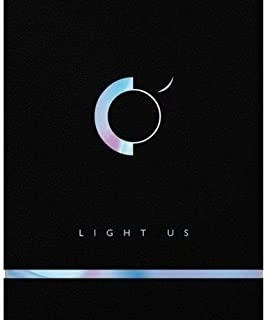 ONEUS - [Light Us] 1st Mini Album CD+104p Booklet+2p PhotoCard+1p Scratch Message Card+Card Sticker+Tracking K-POP Sealed