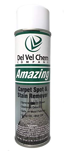 Amazing Carpet Spot and Laundry Stain Remover 18 oz Aerosol Can NOT FOR SALE IN CALIFORNIA