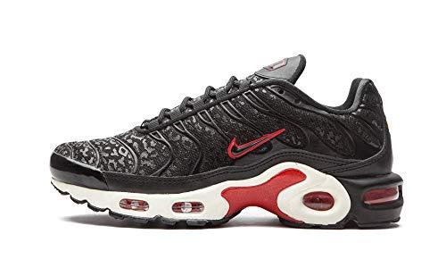 Nike Femmes Air Max Plus Prm Running Trainers BV6116 Sneakers Chaussures (UK 5 US 7.5 EU 38.5, Black University Red 001)