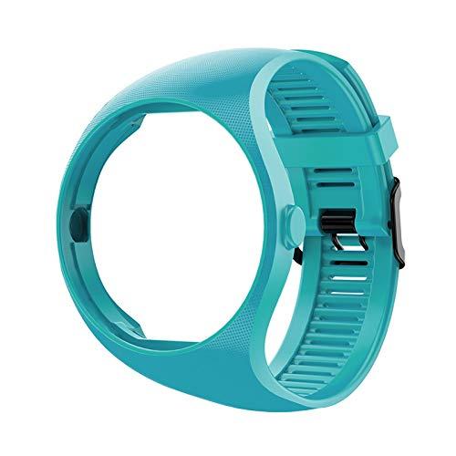 LXF JIAJU Banda De Reloj De Silicona para Polar M200 SmartWatch Sports Correa De Repuesto Pulsera Pulsera (Color : Sky Blue)
