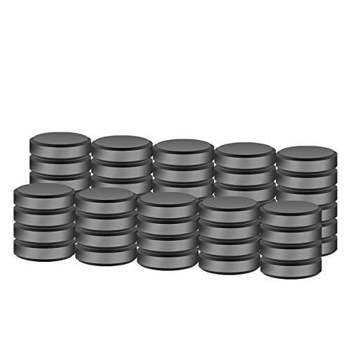 SEDY 50 Keramik-Magnete zum Basteln – Größe 18 mm (7,09 Zoll) runde Scheibe – ideal für Zuhause, Büro, Handwerk, Hobby DIY