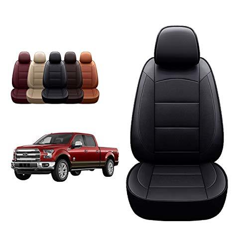 OASIS AUTO 2011-2020 F150 F250 F350 Custom Fit PU Leather Seat Covers Full Set...