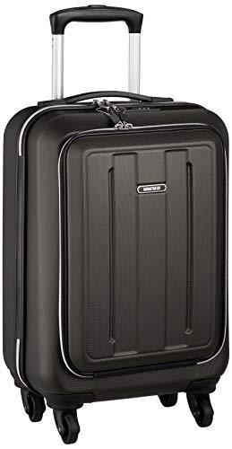 [マンハッタンエクスプレス] スーツケース ジッパー フロントオープン 機内持ち込み可 28L 53 cm 2.8kg ブラック