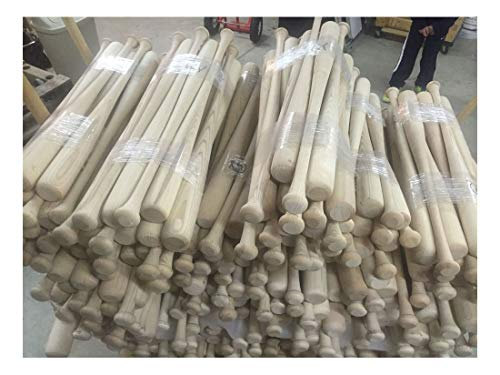 "4-33"" Craft Quality Wooden Blem Baseball Bats"