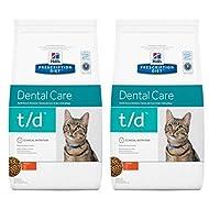 Dental Hills Prescription Diet Feline T/d Care Chicken - 2 X 1.5kg, Especially Formulated To Support...