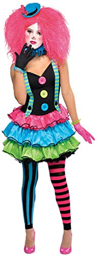 Fancy Me Teenager Mädchen Bunte Clown Bright Circus World Book Tag Woche Halloween Karneval Kostüm Outfit