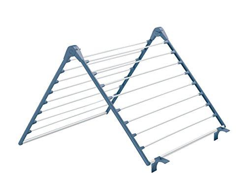 Meliconi Lock Bath Tendedero De Bañera De Baño, Metal, Azul, 58.8X 61.8X 4cm