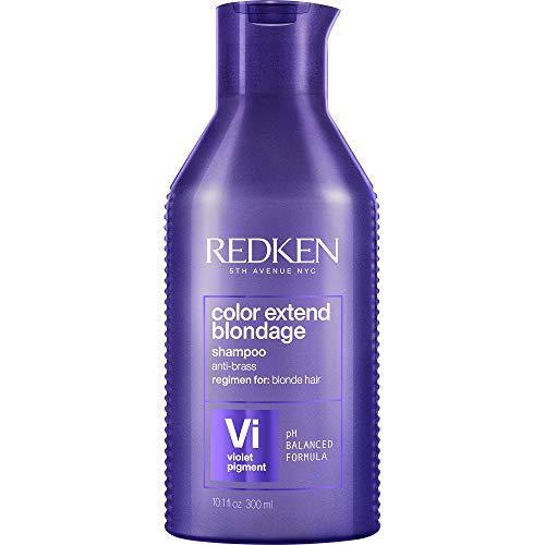 Redken Color Extend Blondage Color Depositing Purple Shampoo | For Blonde Hair | Neutralizes Brassy Tones In Blonde Hair | With Salicylic Acid | 10.1 Fl Oz, 10 fl. oz