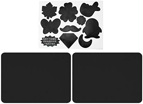 ToToT 2pcs Self Adhesive Down Coat Cotton Padded Patch 15x20cm Black Ironless Repair Cloth Paste product image