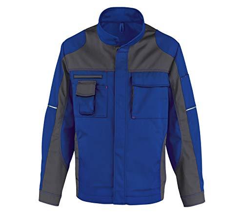 KÜBLER IMAGE VISION Arbeitsjacke blau, Größe 54, Herren-Arbeitsjacke aus verstärkter Baumwolle, robuste Arbeitsjacke von KÜBLER Workwear