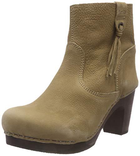Sanita Wood viva medium flex boot dames laarzen