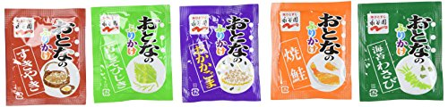 |Nagatanien OTONA NO FURIKAKE Mini #1 || Rice Seasoning || 37.6g ( 20 Pcs ) [ Japanese Import ]|