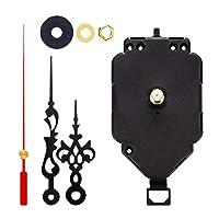 Hellery 掛け時計 クロックムーブメント DIY 修理工具部品 キット クォーツ 壁時計メカニズム