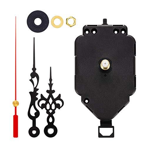 Hellery HR1688-20 Meccanismo di Movimento A Pendolo con Orologio da Parete al Quarzo A 3 Lancette Azionamento A Batteria (Batteria Non Inclusa) Parti di Ripar