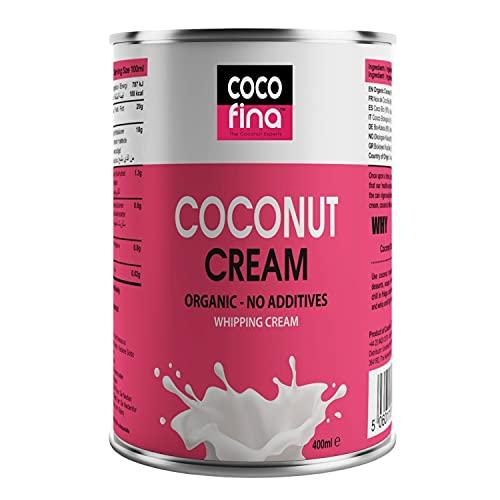Cocofina Organic Coconut Cream   Gluten-Free, Unsweetened, Dairy-Free, BPA...