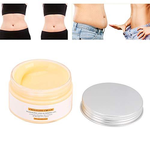 Hot Cream, 50 Ml Cellulite Removal Body Afslankcrème Voor Het Creëren Van Een Mooi Lichaamsbeeld, Anti Cellulite Body Afslanken Verstevigende Crème Voor Het Vormgeven Van Taille Buik En Billen