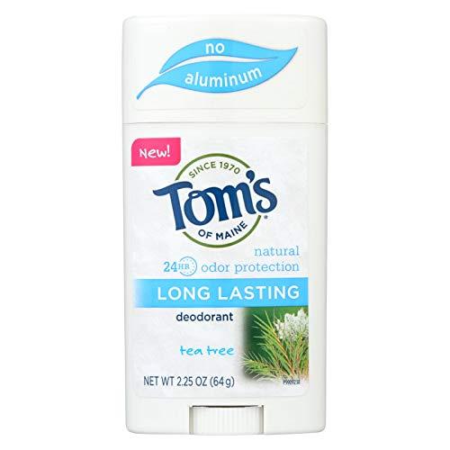 Long Lasting Tea Tree Deodorant Tom's Of Maine 2.25 Stick