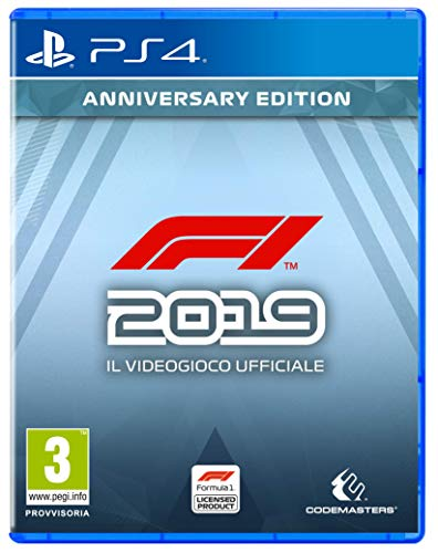F1 2019 Anniversary Ed. - Day-One - PlayStation 4 [Importación italiana]