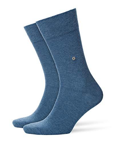 BURLINGTON Herren Socken Everyday - Baumwollmischung, 2 Paar, Blau (Light Denim 6660), Größe: 40-46