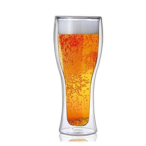 Story Nueva Pared de Doble Pared Cerveza Cerveza Divertida Leche de Vino Jugo de Vino Copa de Cristal Barra de la Fiesta Bebida Vodka Whisky Champagne Taza Regalos creativos (Color : B2)
