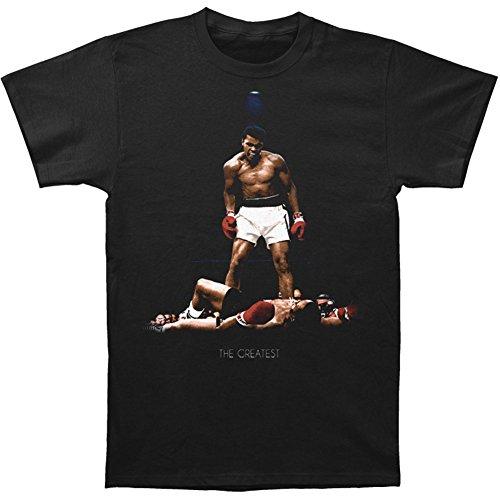 Muhammad Ali camiseta todo de nuevo negro