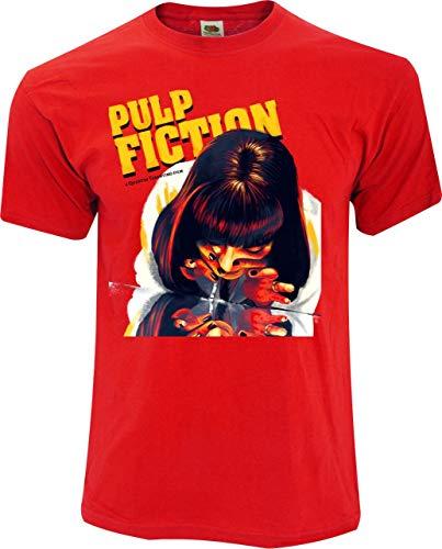 Desconocido Camiseta Pulp Fiction. - UMA...