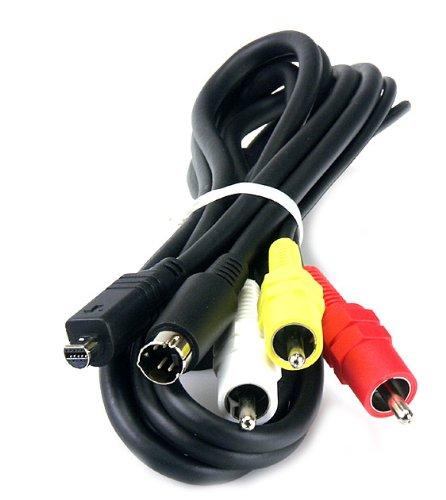 High Grade - TV Blei für Sony Handycam Camcorder - AV / Audio Video Anschluss Kabel - Ersatz für Sony VMC-15FS / VMC15FS - AAA Products®