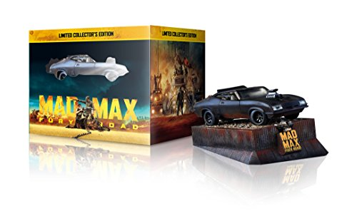 Mad Max: Fury Road Sammleredition (3D-Steelbook & Interceptor Auto-Modell) [3D Blu-ray] [Limited Edition]