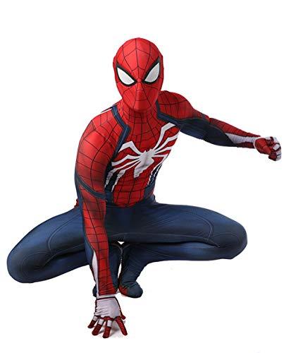 Spiderman Cosplay Costume Halloween Performance Party Costume Puntelli di Film,L