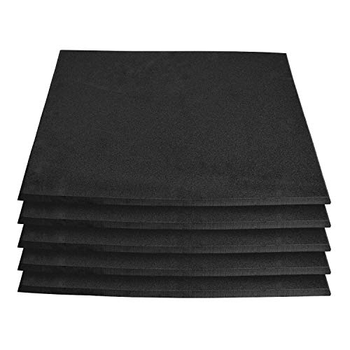 XCEL 5 Pack Super Versatile Neoprene Pet Mats, Kennel Pad, Water and Weather Resistant, Super Durable, East to Cut and Customize, Made in USA