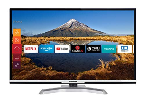 Telefunken D32H470B4CWII 81 cm (32 Zoll) Fernseher (HD Ready, Triple Tuner, Smart TV, Prime Video)