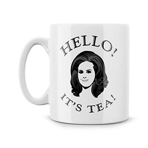 Zachrtroo Hallo Sein thee-lied-Lyric-citaat-grappige buitenkant - bijzondere koffiemok Meme thee-schaal