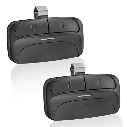 Universal Garage Door Opener Remote Replacement for Chamberlain Liftmaster 375LM 375UT Genie Linear and More - 2 Pack