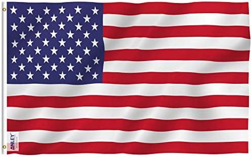 Bandera de estados unidos negra