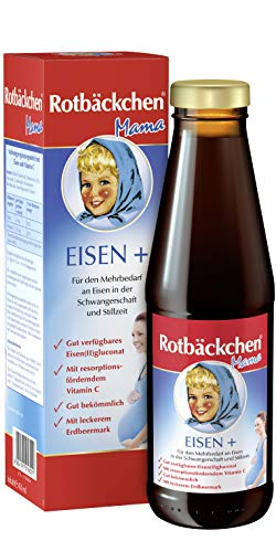 Rotbäckchen Mama Eisen +, 3er Pack (3 x 450 ml) 261650